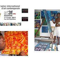 Vernissage Nuances 3D au salon art3f Vivons Art