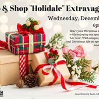 Holiday Sip &amp Shop Extravaganza