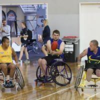 Wheelchair Aussie Rules Island Clash