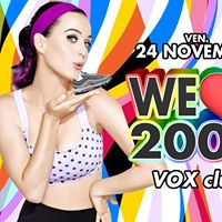 WE Love 2000 Modena VOX CLUB - Venerdi 24 Novembre