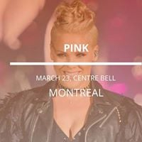 Pink in Montreal