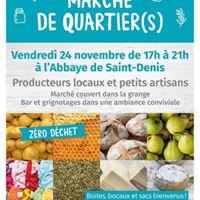 March de Quartier(s)  lAbbaye de Saint-Denis