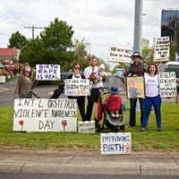 Peaceful Demonstration Ballarat - Respectful Maternity Care