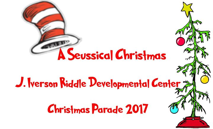 A Seussical Christmas Jirdc 2017 Parade At J Iverson Riddle
