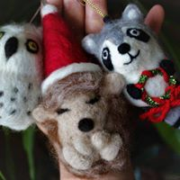 Hand Felted Critter Beginners Workshop (Snowy Spotted Owl)