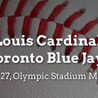 MLB Preseason Toronto Blue Jays vs. St. Louis Cardinals