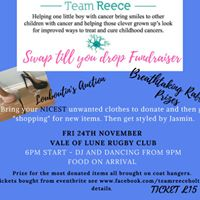 TeamReece Swap till you drop fundraiser