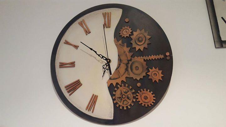 Seminario Reloj decorativo - Profesora Liliana Nuez
