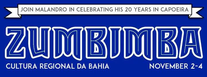 Celebrate Malandros 20 years in capoeira at Zumbimba 2017