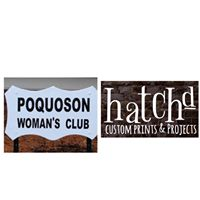 Hatchd With Poquoson Womans Club
