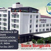 Ioacon 2017  meet Siora surgicals