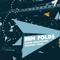 Ben Folds Paper Aeroplane Request Tour flies into The Tivoli