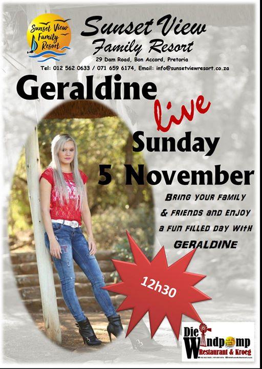 Geraldine At Sunset View Family Resort Bon Accord Dam Pretoria