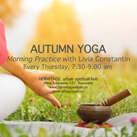 Yoga - Autumn Morning Practice with Livia