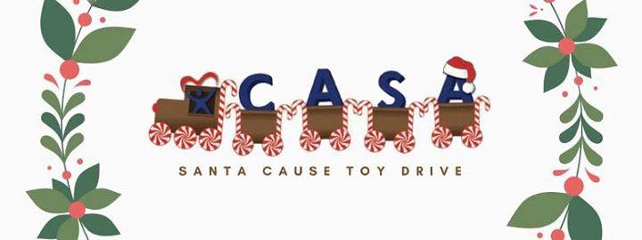 sames ford santa cause toy drive for casa of the coastal bend at