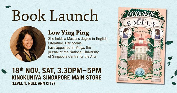 Goodbye, Mount Emily Book Launch at Neo Kinokuniya Singapore Main