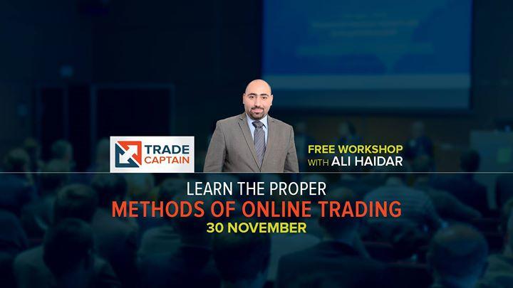 Learn the Proper Methods of Online Trading
