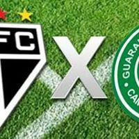 So Paulo VS Guarani pela Srie B 2018