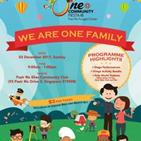 One Community Fiesta - We Are One Family