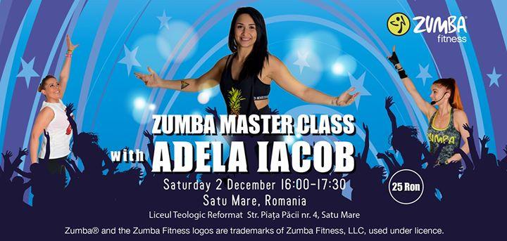 Zumba Master Class - Adela Iacob - Satu Mare