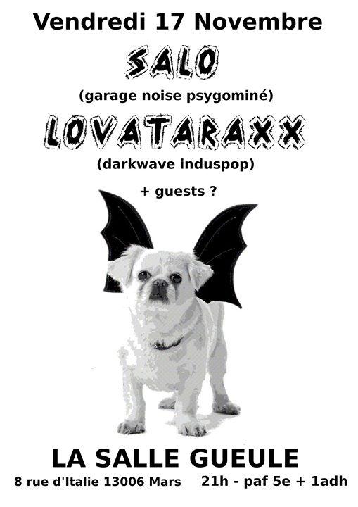 Sal & Lovataraxx  guest