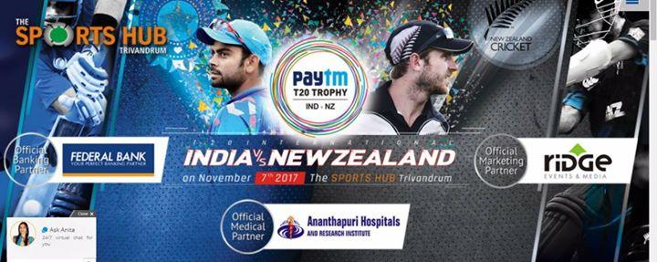Paytm INDIA  VS NEW ZEALAND T20