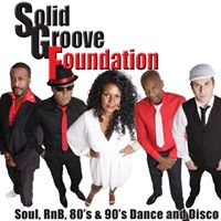 Solid Groove Foundation Live at The Belfrys Xmas Party Night