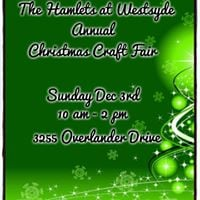 The Hamlets at Westsyde Christmas Craft Fair