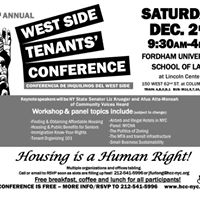 12th Annual West Side Tenants Conference