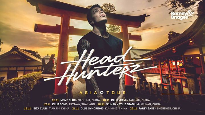 Headhunterz at Wuhan Keting Stadium