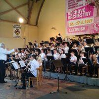 Koncert JBO Bernsdorf DOM Litvnov Brass band Praha