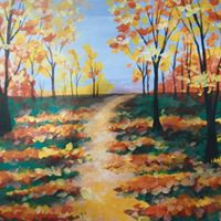 Adult Paint and Sip canvas class