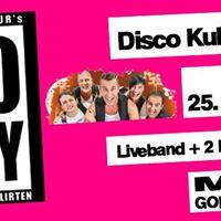 Disco Kulturs 30 Party mit Swagger im MonAmi