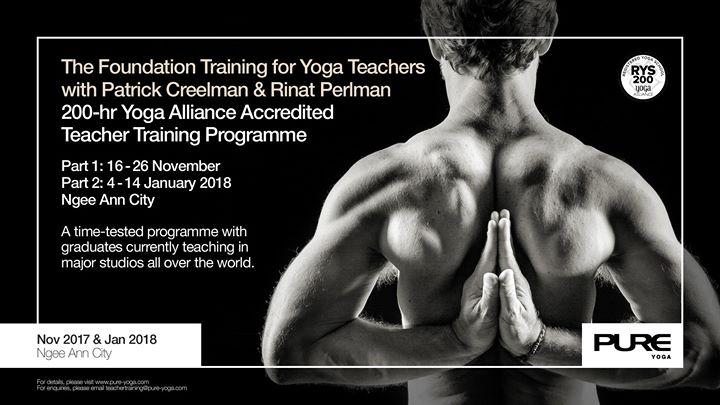 The Foundation Training for Yoga Teachers with Patrick Creelman