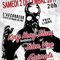 Soire Lucane  lAccordeur - 2 Dcembre