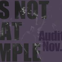 Its Not That Simple Auditions