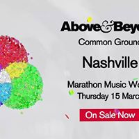 Above &amp Beyond Common Ground Nashville