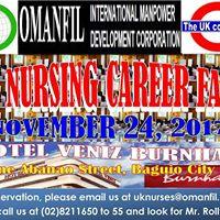 Nursing Fair in Baguio City