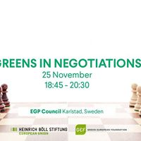 Greens In Negotiations - HBS EU  Green European Foundation