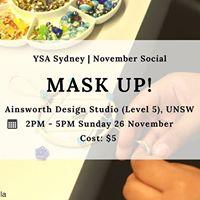 YSA Sydney November Social Mask up