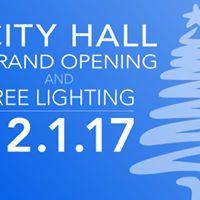 Twin Falls City Hall Grand Opening &amp Tree Lighting