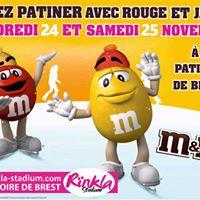 M&ampMs au Rnkla Stadium - Patinoire de Brest
