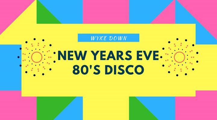 New years eve 80s disco