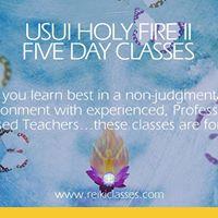 Usui Holy Fire II 5 Day Reiki Classes