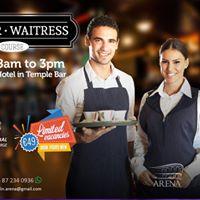 Curso de waiter  waitress  garom