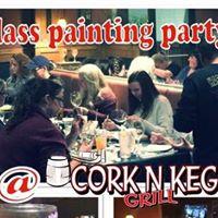 Cork N Keg Glass Paint Party