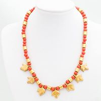 Free Jewelry Class Fall Stone Collar Necklace