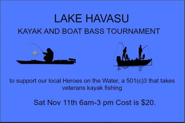 Lake Havasu Veterans Fishing Tournament