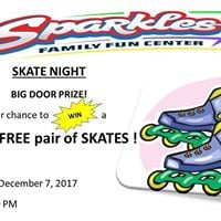 Skate Night at Sparkles