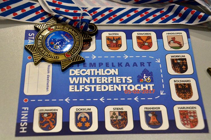 Decathlon Winterfiets Elfstedentocht 2018